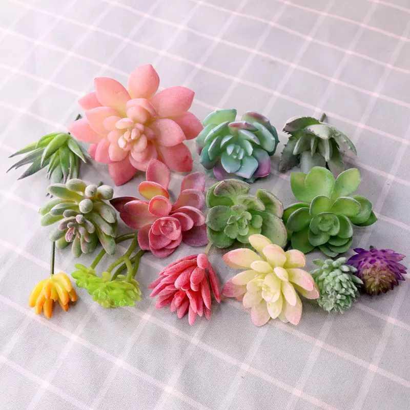 전체 DIY 프로젝트 홈 장식 녹지 벽 디자인 식물 꽃꽂이 재료 꽃 머리