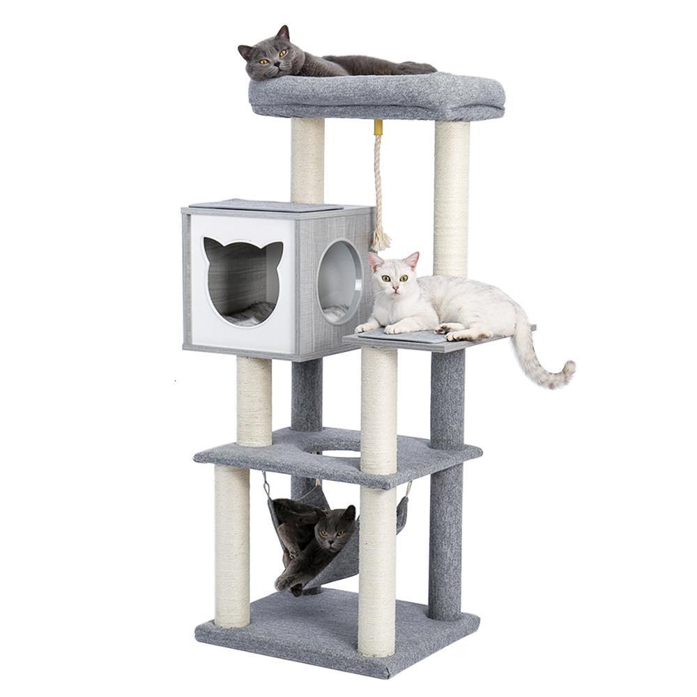 2021 Новое дерево Роскошная Просторная Полюсная активность Центр Актуальные Очки Эскиз Cat Game Tower 58A8