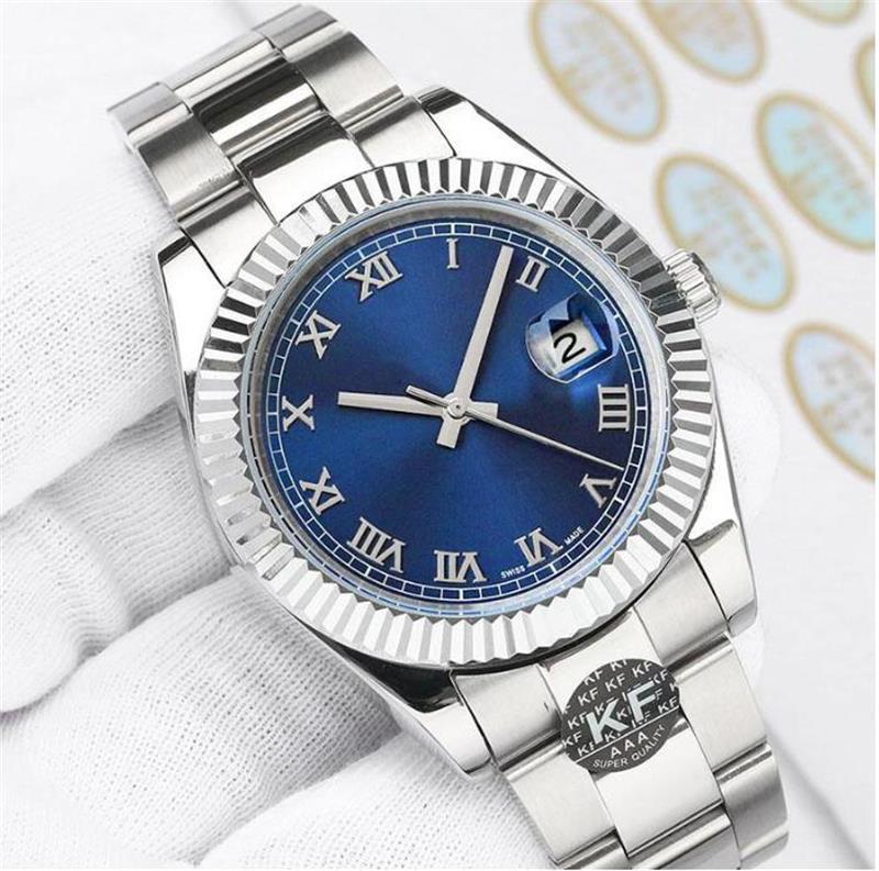 U1 Orologio Автоматические механические часы Мужчины большая лупа 41 мм из нержавеющей стали сапфировые мужские часы мужские наручные часы водонепроницаемые светящиеся