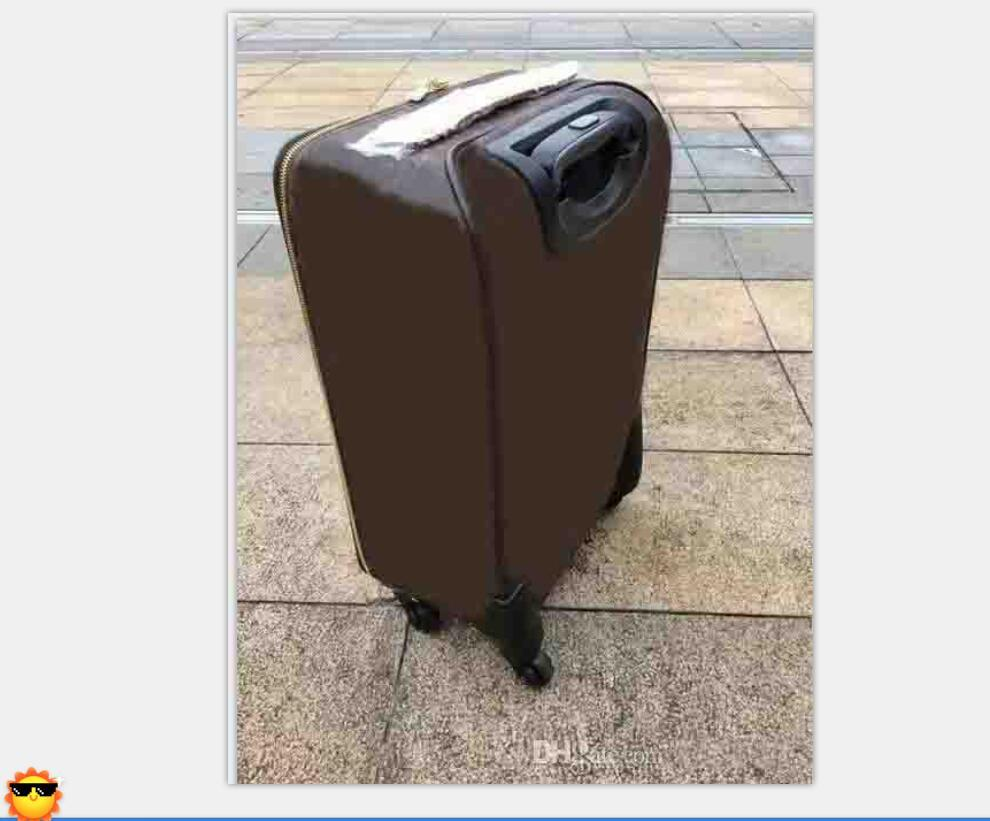 2021 classic high quality 20 Inch Women durable Rolling Luggage Spinner brand Men business Travel Suitcase 686118