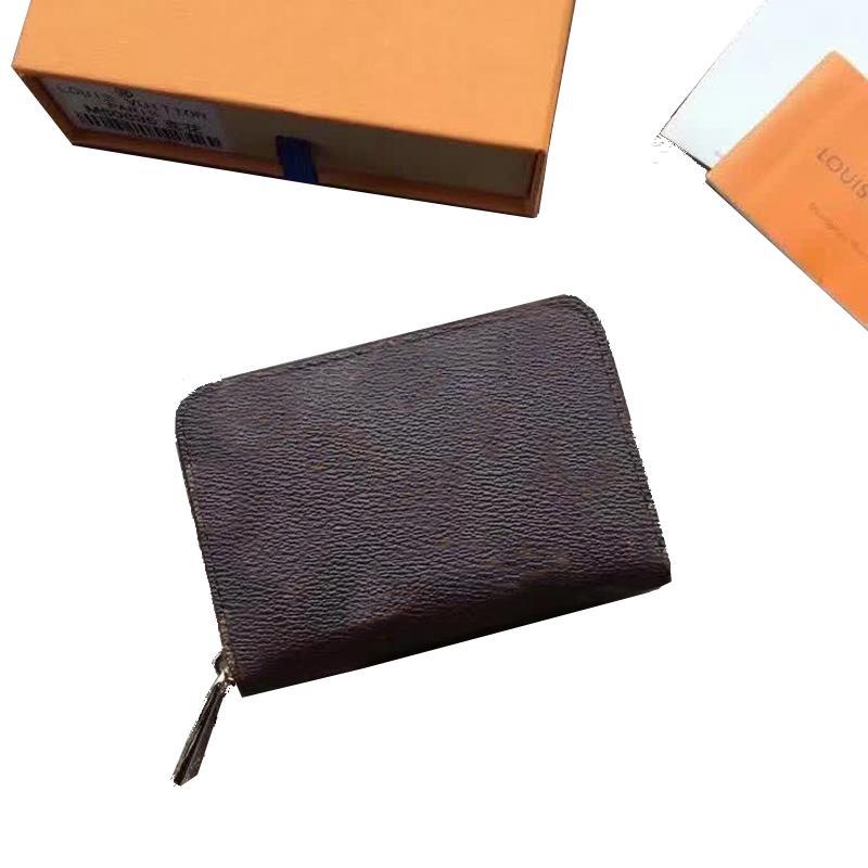 Münzbeutel Luxus Designer Tasche Key Case Frauen Klassisch Meist Mode fähige lange Reißverschluss Karten Münzen Herren Lederhalter Geldbörse Kupplung Brieftasche auf Verkauf Messenger Rucksack