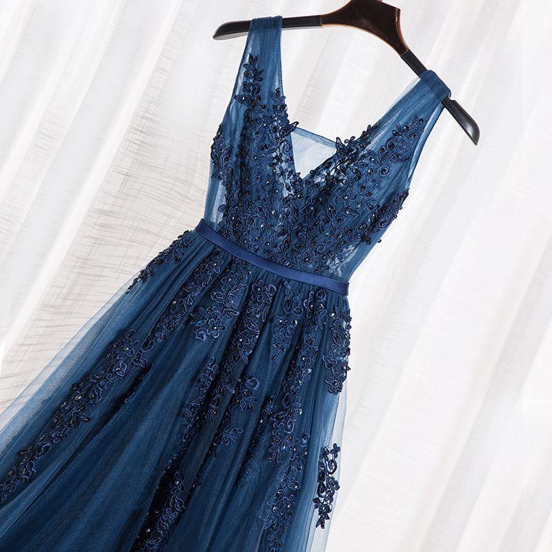 Tarde 2020 Nueva Moda Larga Banquete Tostado Bridal Boda Alojamiento Vestido de compromiso 259
