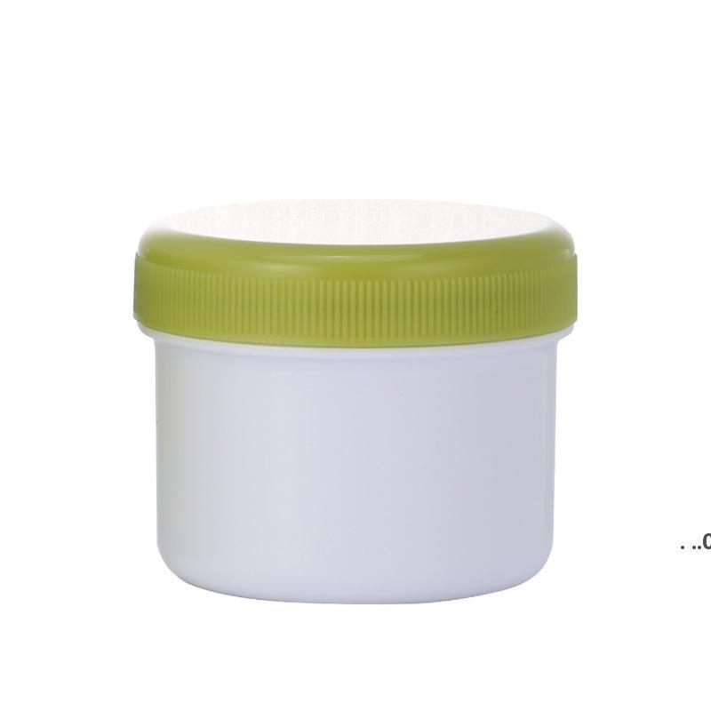 80G пустой PP пластиковая грязевая маска для баночки крем с внутренней крышкой крышки красочные контейнеры без BPA отлично подходят для кухни косметики EWD9402
