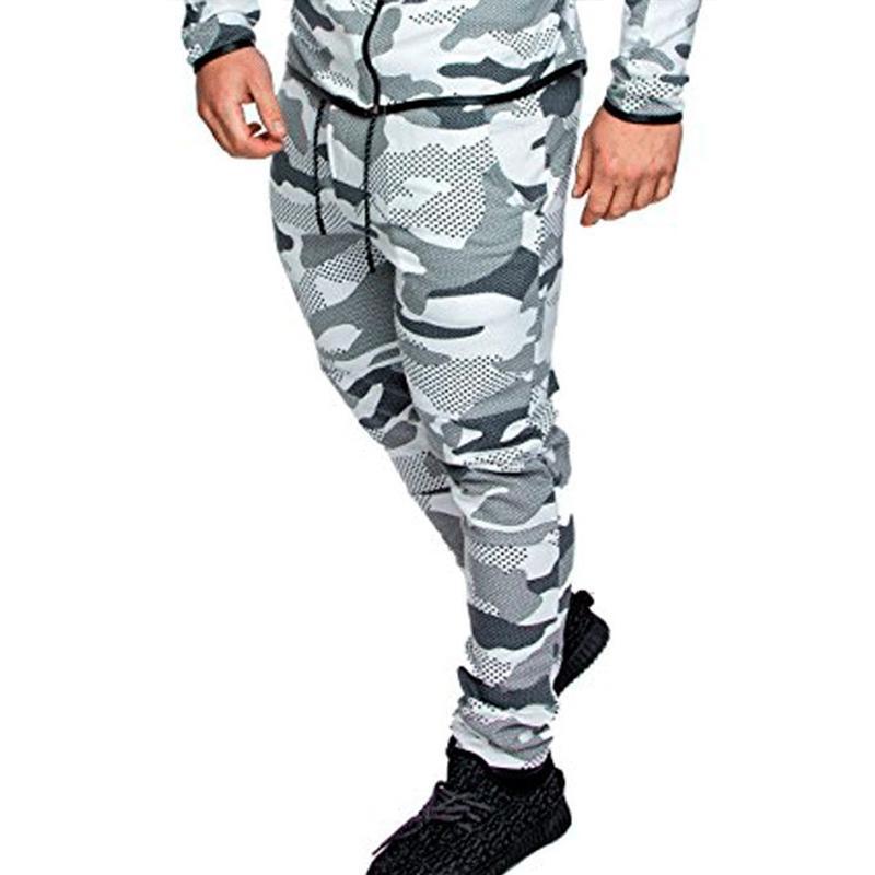 Pantalon homme camouflage hommes vêtements pantalons Streetwear Sports Formation Casual Cargo Ropa Hombre Joggers