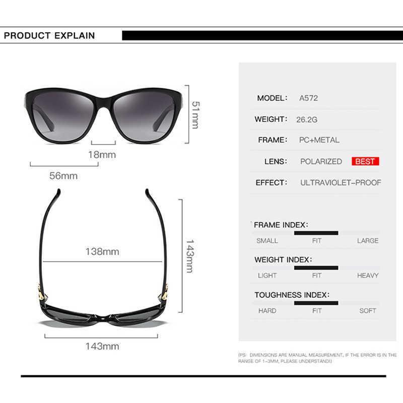 Luxury designer Sunglasses Aoron Fashion Womens Polarized Women Classic Sun Glasses Eyeglasses Accessories