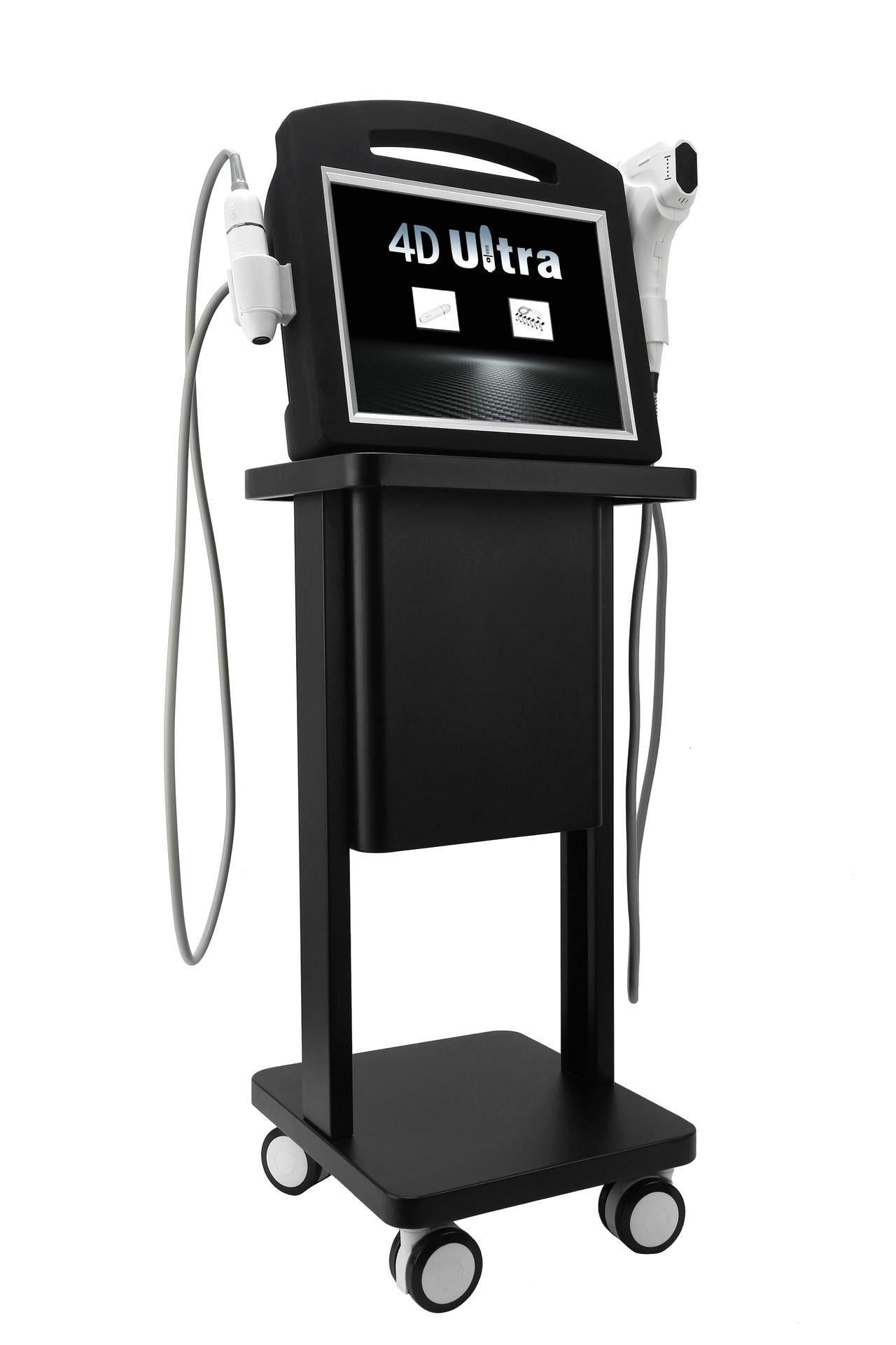 2019 newest 2 in 1 V-max hifu 4D face lift korea hifu skin tightening beauty machine