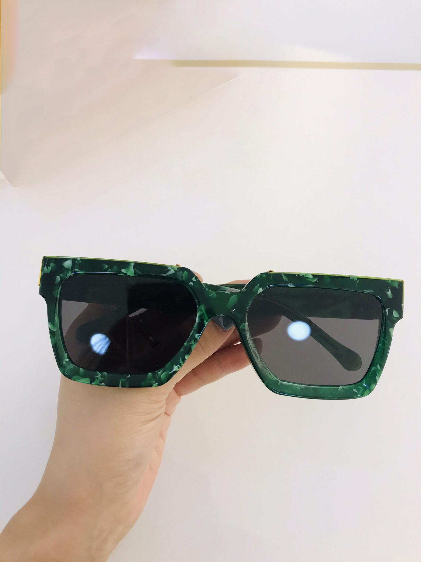 2021 Qualidade superior Avaguarda ao ar livre boa venda designer de óculos de sol de luxo milionário moldura com caixa