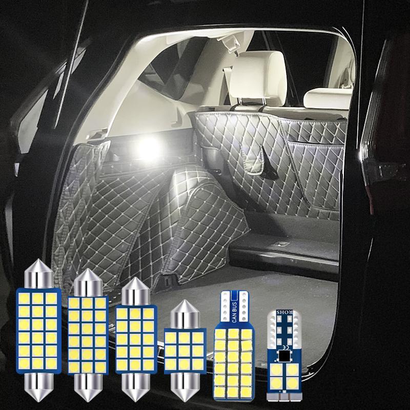 10X 오류 무료 자동차 LED 전구 내부 독서 램프 트렁크 라이트 KIA K5 Optima 2011 2012 2013 2014 2016 2016 2017 액세서리