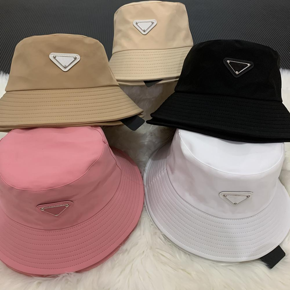 양동이 모자 비니 디자이너 태양 야구 모자 남성 여성 야외 패션 여름 해변 선수 어부의 모자 5 색