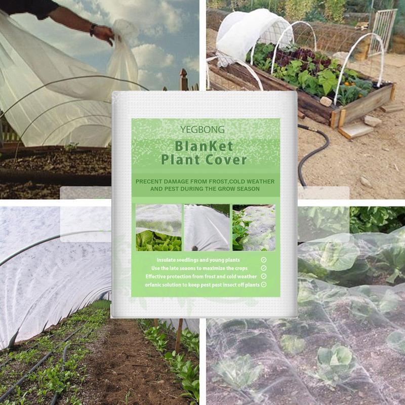 Sacos de Armazenamento Garden vegetal Inseto Net Cover Plant Saco Frost Protection Winter Flower Rede # 4