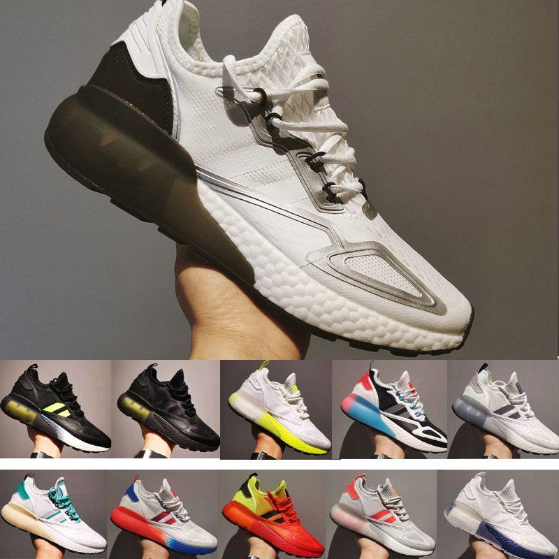 ZX 2K Respire Esporte Sapatos Homens Mulheres Executando Sneakers