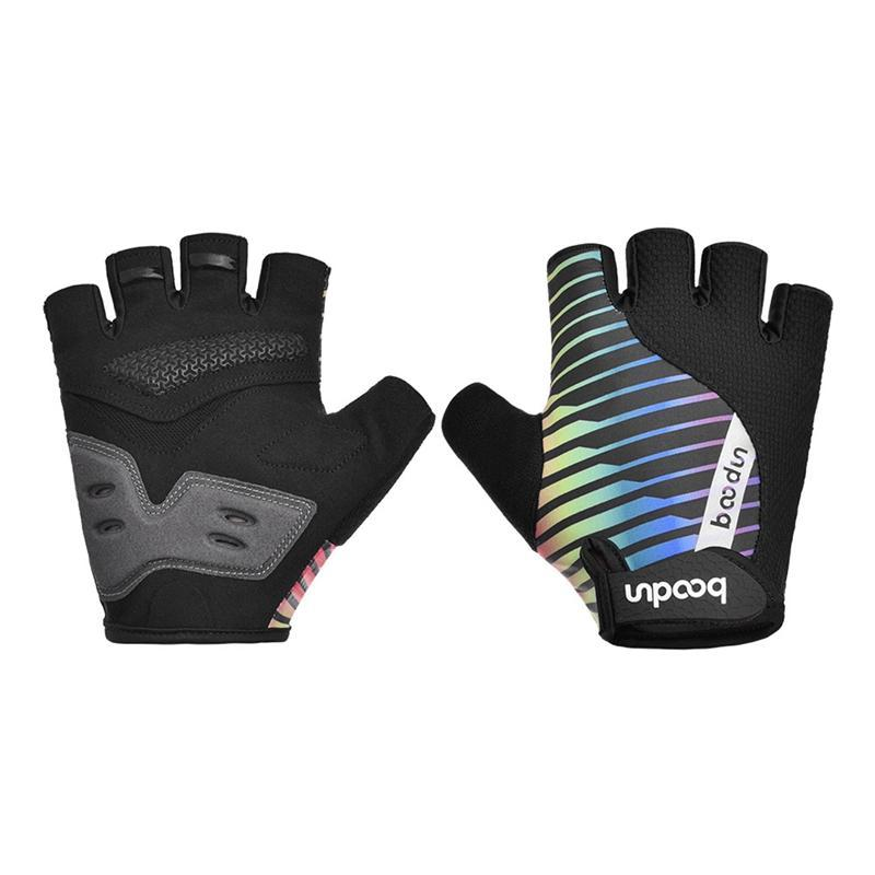 Cycling Gloves Boodun Summer Half Finger MTB Shockproof Breathable Road Mountain Bike Bicycle