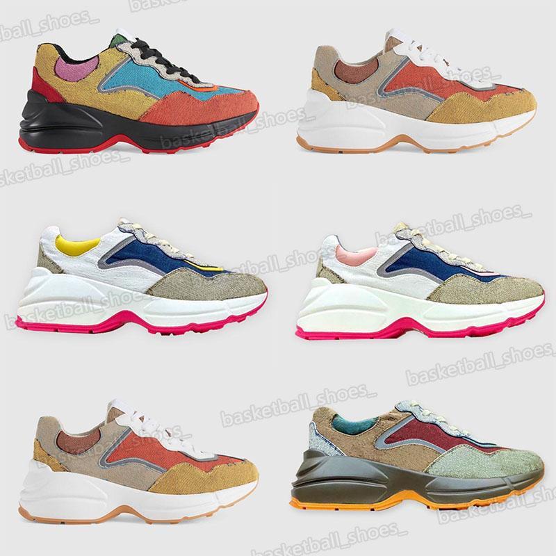 Mais novo Produto Top Qualitty Mens Plataforma Sapatos Casuais Casal Daddy Calfskin Material Moda Mulheres Sports Sneakers Unisex Tamanho 35-46