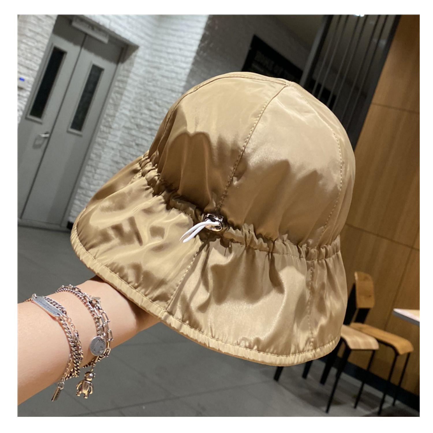 Bucket Hat Net red style travis scott drawstring hats outdoor quick drying waterproof essentials sunscreen womens caps spring and summer Fishermans cap