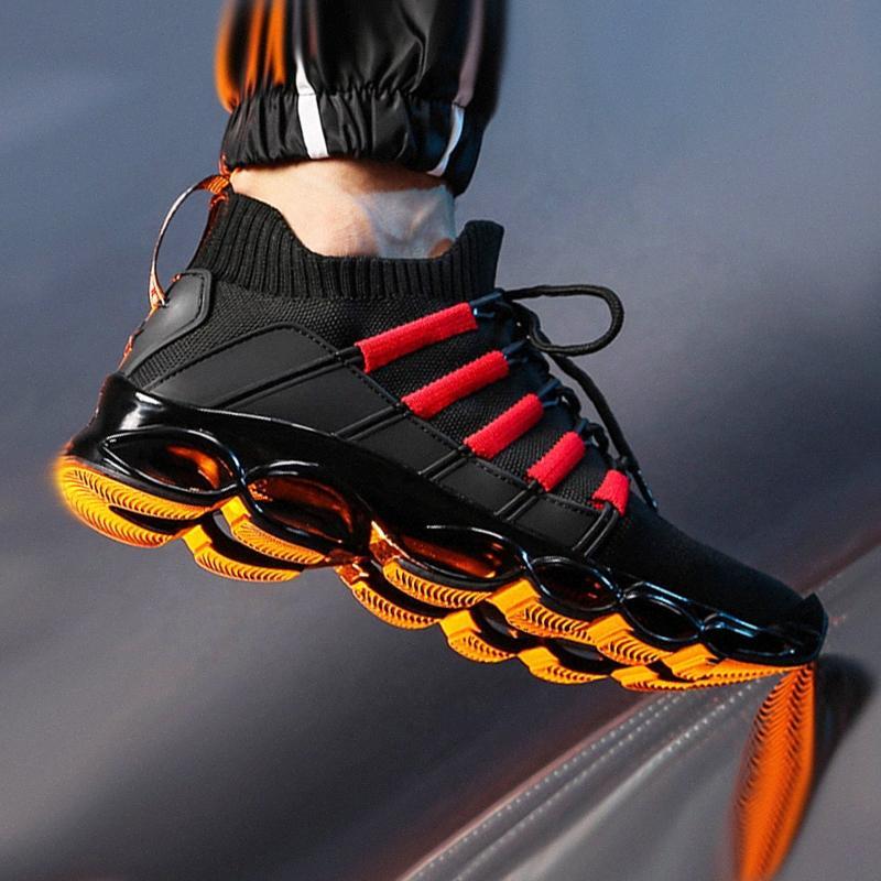 جديد بليد أحذية الرجال الأزياء تنفس أحذية رجالي عارضة أحذية كبيرة الحجم مريح الرياضة رجل 47 الركض 48 G0MY #