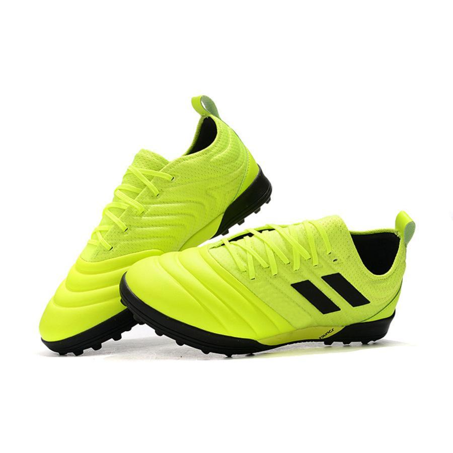 Falcon 20.1 Tricô Indoor Huailong MD Grama Prego Futebol Ao Ar Livre Esportes Lazer Treinamento Plano Sapatos YHRI