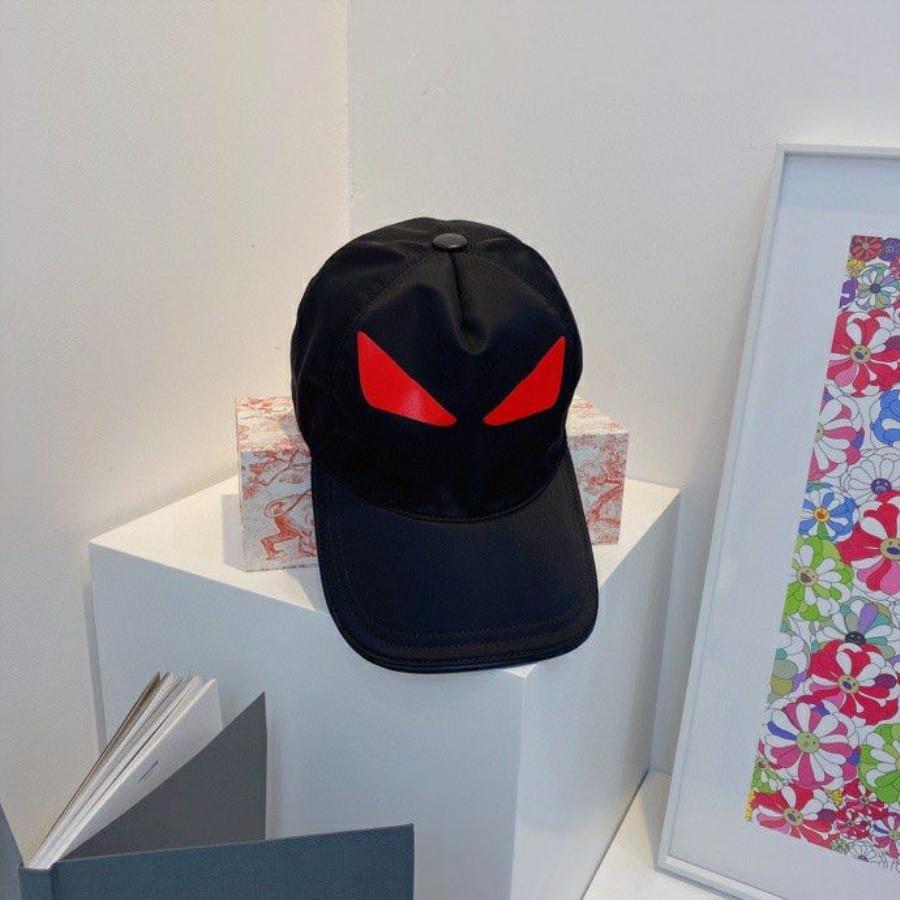 Fashion Street Balls Cap Bucket Chapéu Para Homem Mulher Ajustável Chapéus Eyes Design 2 Cores Altamente Qualidade