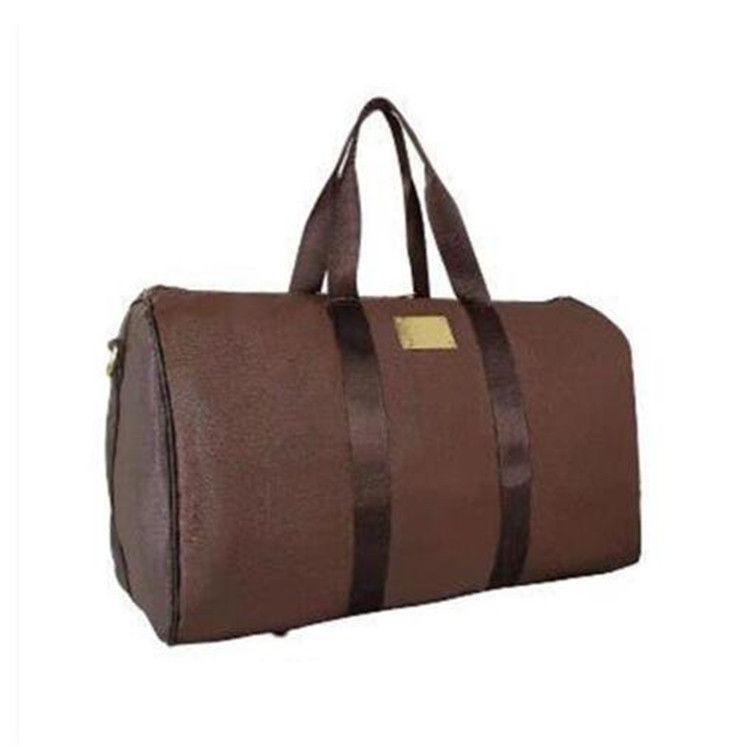 Desenhador de couro pu homens malas de bagagem esporte ao ar livre pacotes de ombro sacos de viagem mensageiro bolsas totes unisex handbags Duffel