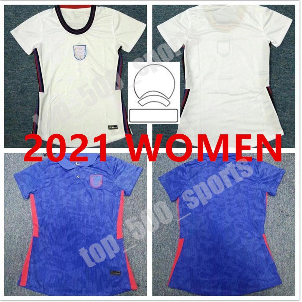 2021 유럽 컵 국가 대표팀 축구 유니폼 Foden Kane Sancho Sterling Lingard Uniform Lady 21 22 Vardy Rashford 홈 멀리 축구 셔츠