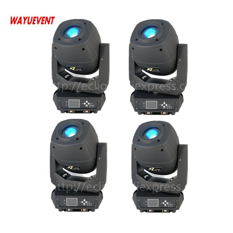 Effects Arrival Double Prism 230w Beam Spot Wash 3in1 DMX Led Moving Head Stage Light Linear Zoom Lights Rotating Gobos DJ