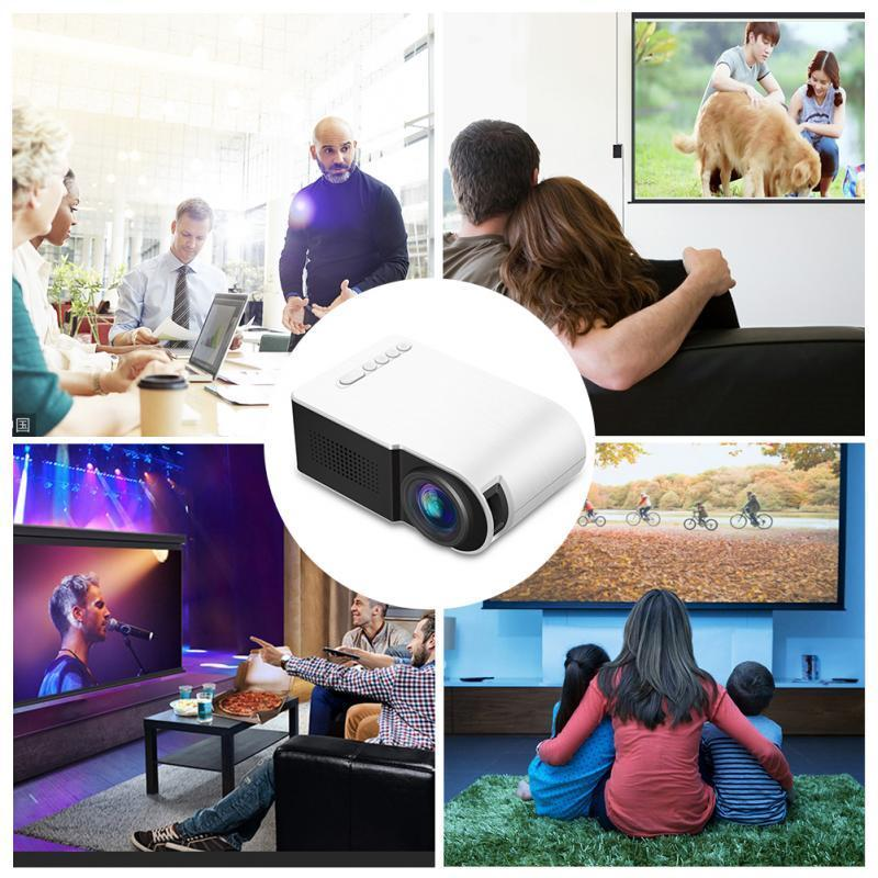 Factory direct sale 2021 new projector mini home phone wireless mini convenient HD home theater 1080p projector7000 lumens
