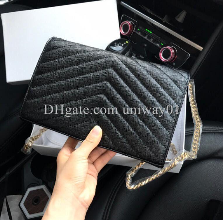 جلد طبيعي حقيبة يد المرأة حقيبة مربع الأصلي حالة محفظة مخلب الكتف رسول الصليب الجسم الكافيار الخراف