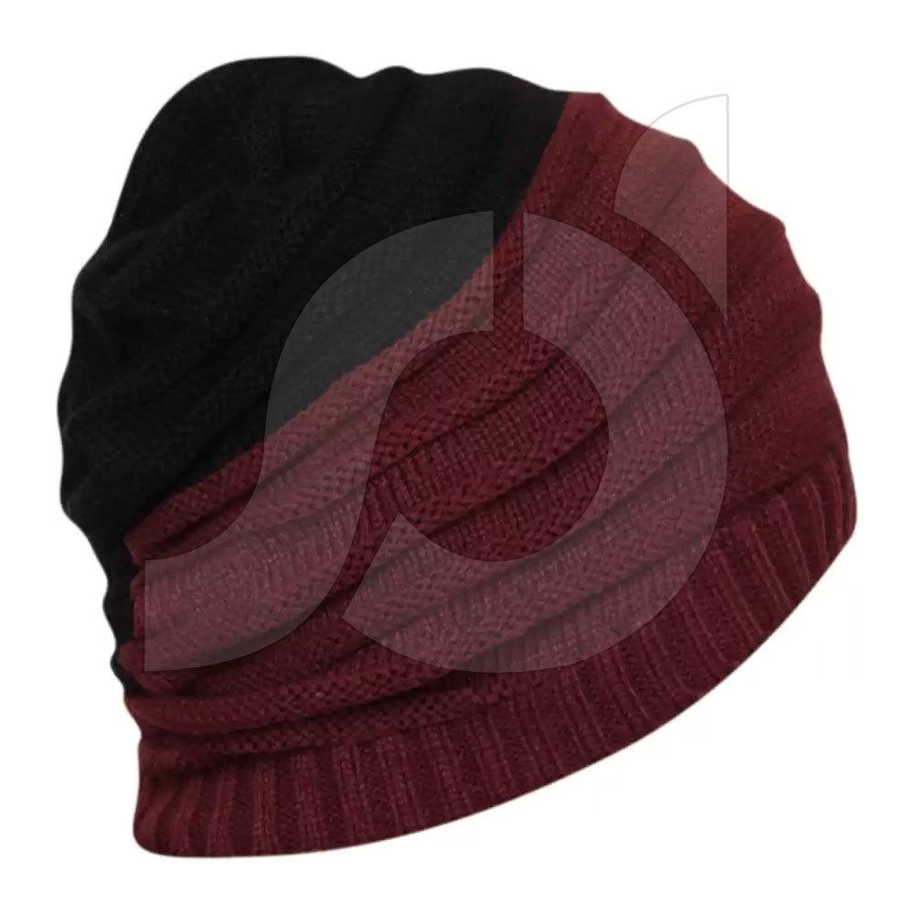Fashion windproof and cold proof brimless hat JU9L