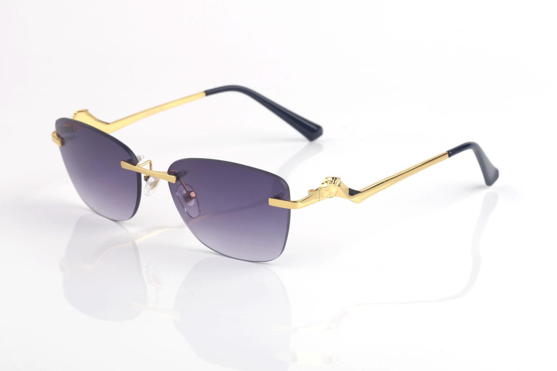Klasik Erkek Güneş Gözlüğü Marka Tasarım UV400 Gözlük Metal Altın Bacaklar Güneş Gözlükleri Erkekler Kadınlar için Tiny Tel Alaşım Düzensiz Çerçeveler Lunettes de Soleil