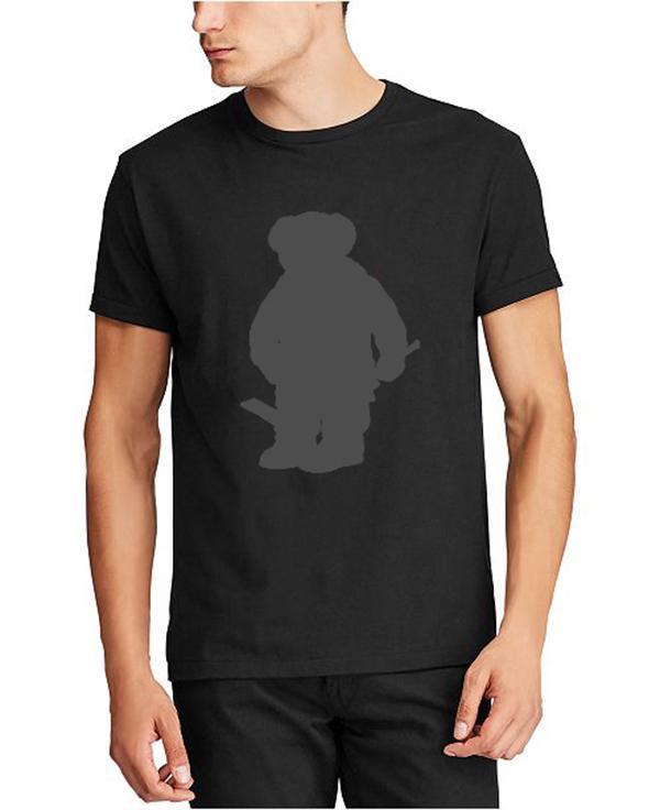 Wholesale US size Polo Bear shirt men's Martini bear T-shirt US short-sleeved standard EU UK size shirt Hockey Bear Captain Blue Direct Selling