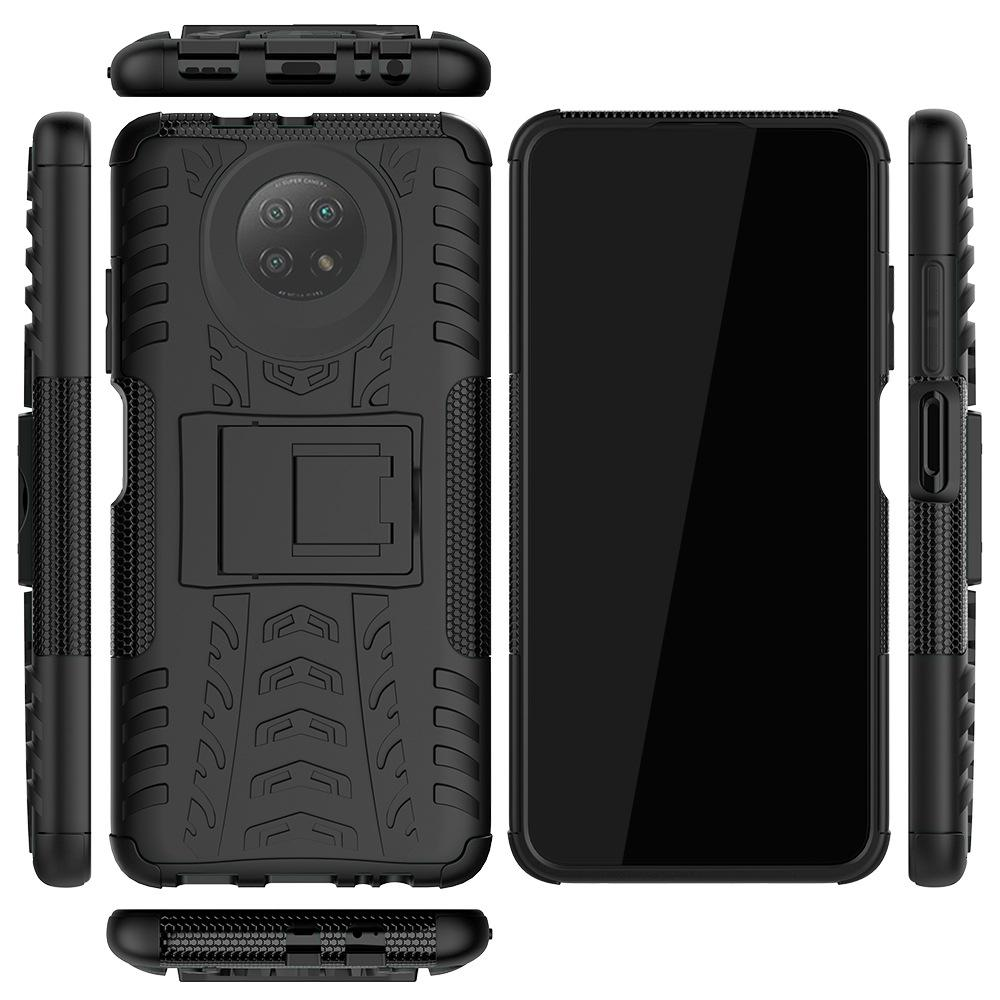 Dazzle Hybrid Kickstand Caja Resa para Xiaomi MI 10T Lite 11 Poco X3 NFC Redmi 9C 9A K30 PRO K40 Funda a prueba de golpes