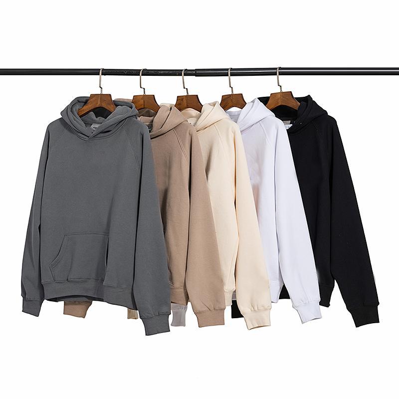 Yansıtıcı Sonbahar Kış Pantolon ABD Tanrı Korkusu Essentials Silikon Harfler Baskı Pantolon Rahat Sis Sweatpants Erkek Kadın FG Jogger Pantolon 3 M