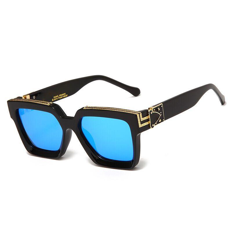 Top Qualtiy Новые моды солнцезащитные очки для мужчины Женщина L Eyewear v Дизайнерские бренд мужские и женские солнцезащитные очки 19 цвет и коробка
