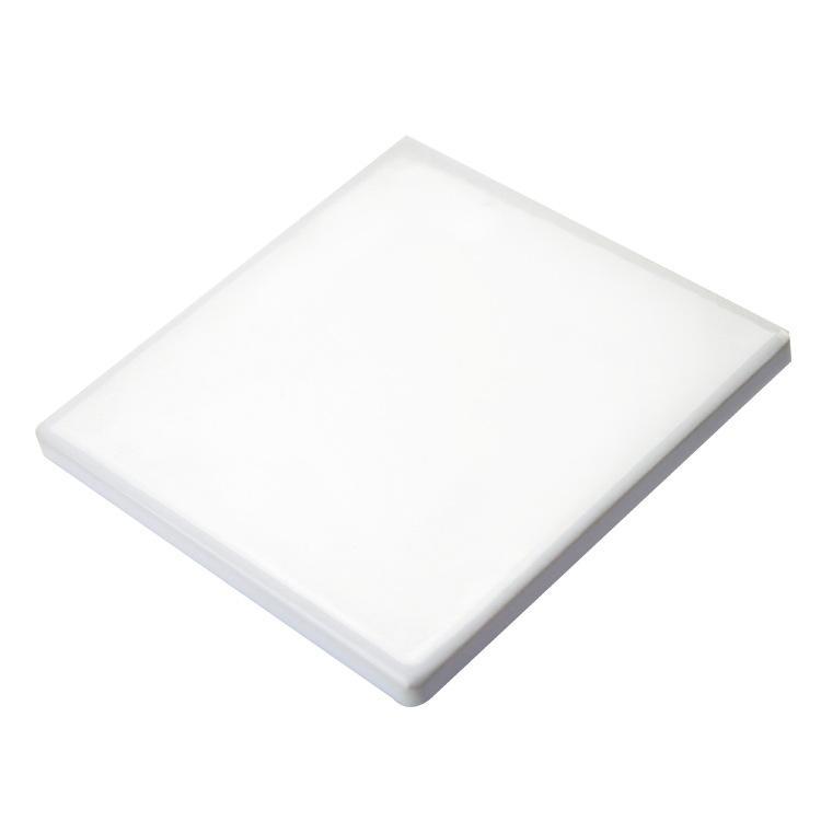 Sublimation Coaster Coaster Ronde Tapis carré pour gobelets blancs blanches Substers sublimés bricolage Thermal Transfert Tap-Mat KKB7077