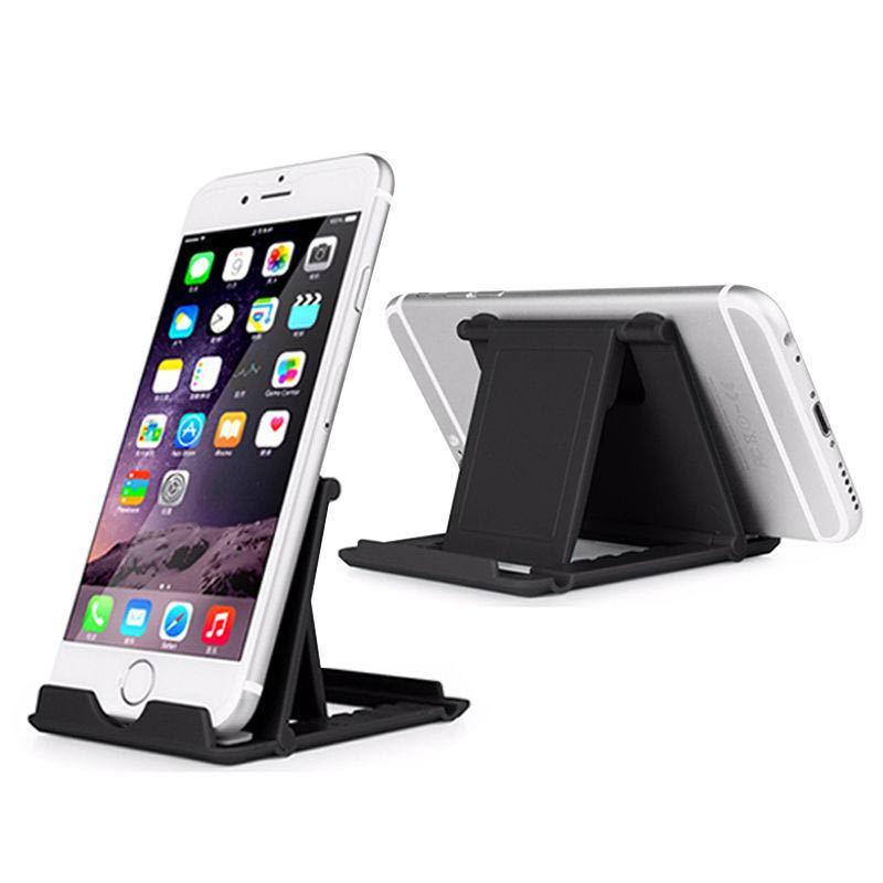 Supporto del supporto del telefono regolabile del desktop universale montaggio pigro pieghevole per il cellulare Samsung Tablet PC Smartphone multi colori