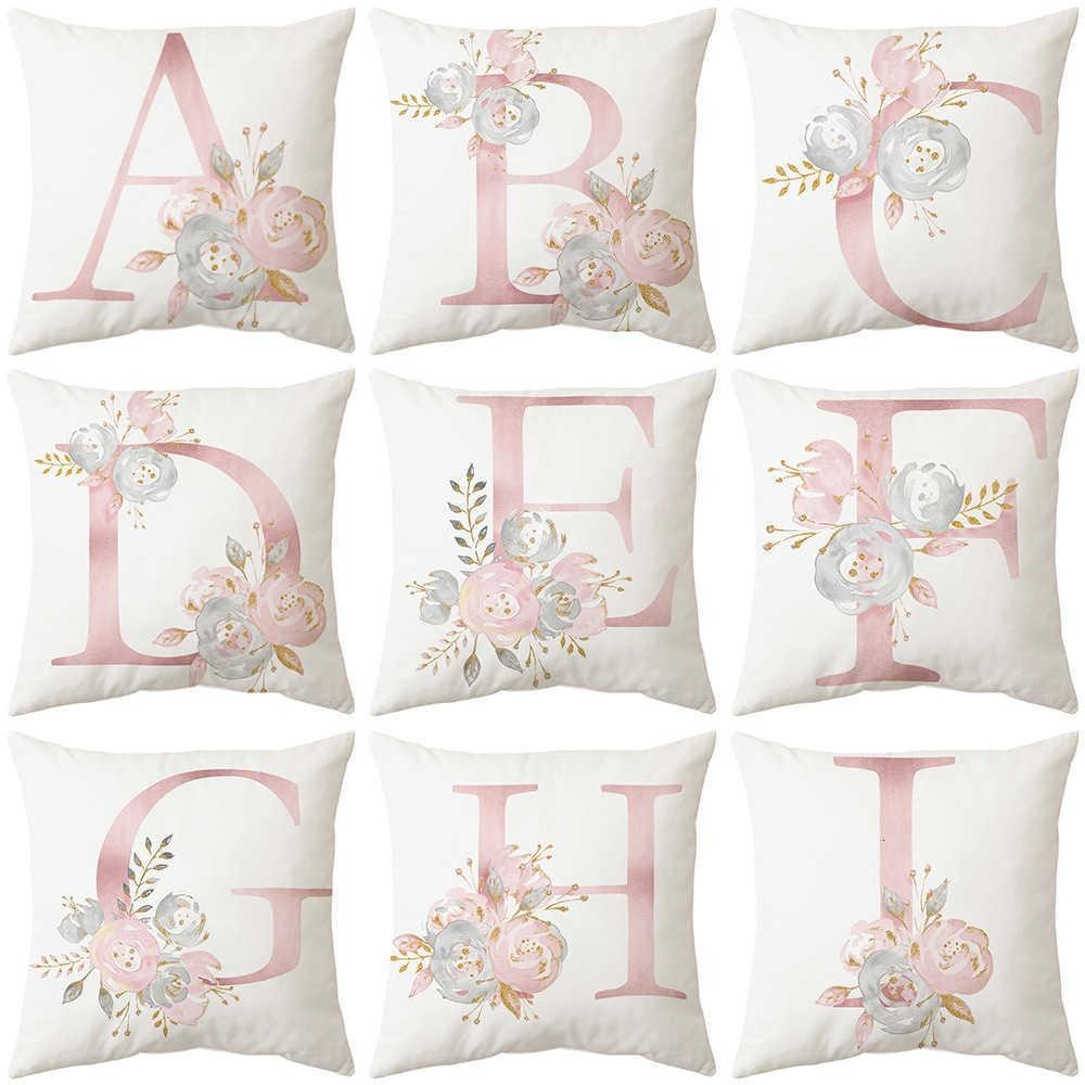 Coprire la lettera di cuscino Valentine's Day Soggiorno divano cuscino cuscino in vita camera da letto