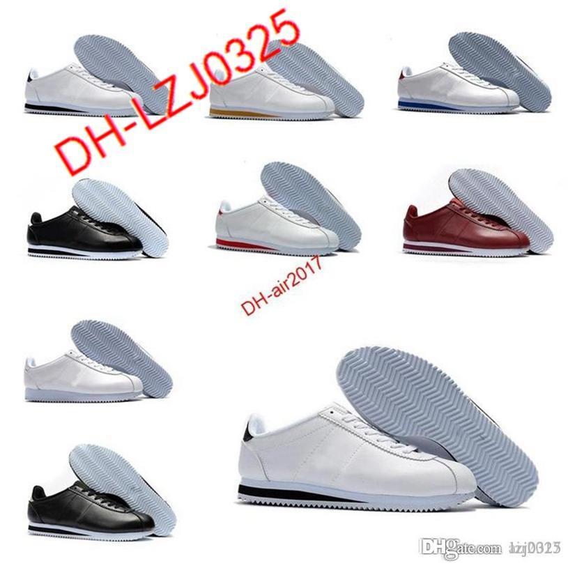 Zapatillas Cortez para hombre zapatillas zapatillas zapatillas de zapatillas deportivas Cuero Atlético ORIGINAL VENTA DE VENTA DESCRIPCIÓN DH-X32