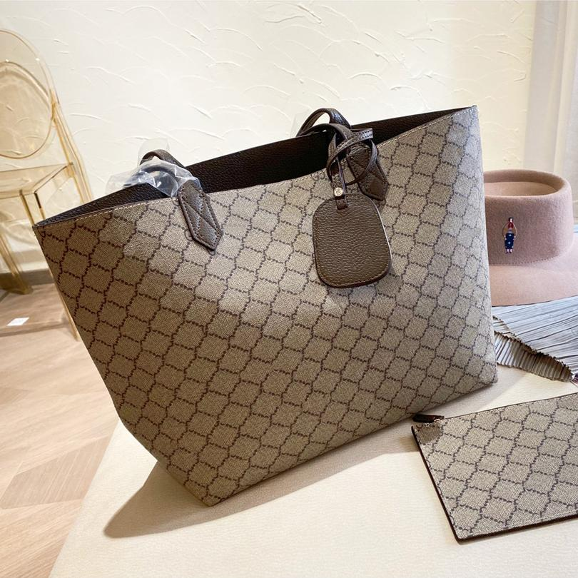 Luxurys Designers Sacs Sac à main Sac à fourreon de grande capacité Bages à épaules High Quanlity ZZL2105112
