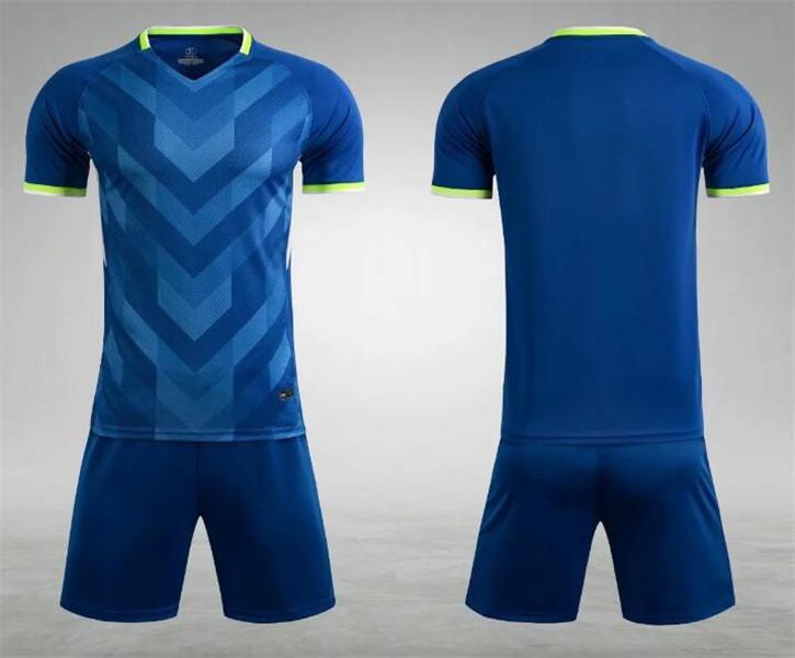 0175 Hommes Football Shirt Kits de football Jersey Taille adulte Taille à manches courtes Ensemble de jogging Tracksuit Set
