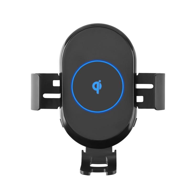 FOD датчик автомобиля беспроводное зарядное устройство держатель телефона автоматическое зажимное отверстие Vent qc / pd тип c порт c15