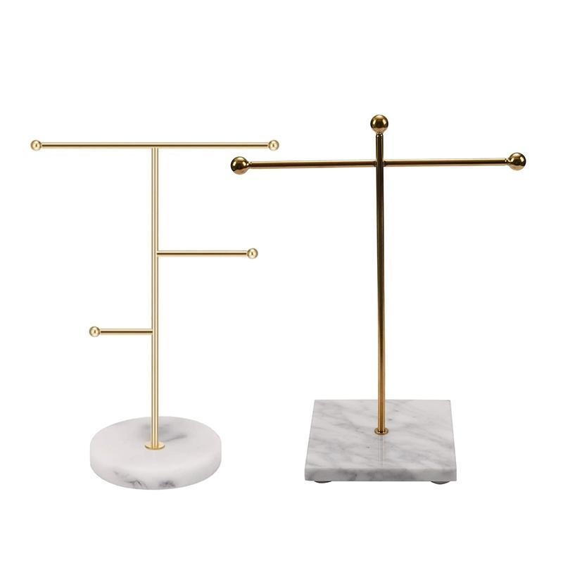 حقائب المجوهرات، أكياس 2 قطع بسيطة ديكور قلادة حامل عرض موقف، 10 × 26 18.5 سنتيمتر 23 19 سنتيمتر
