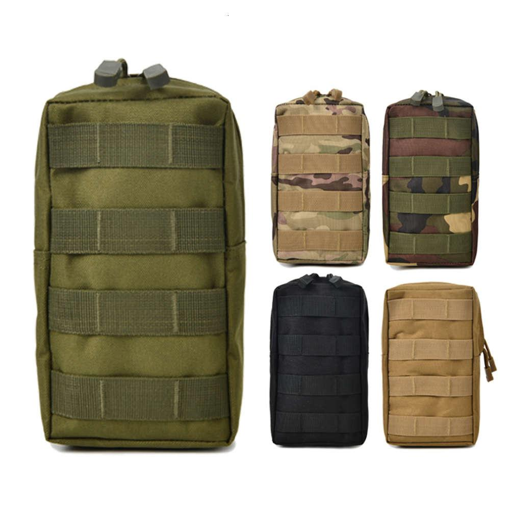Bolsas multifunción Molle Deportes Tácticas Paquete de cintura para ventiladores militares Montando camuflaje Bolsa de teléfono móvil