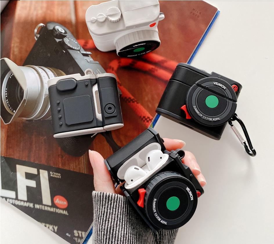 카메라 프로젝터 픽셀 줌 렌즈 AirPods 사례 AirPod 1/2