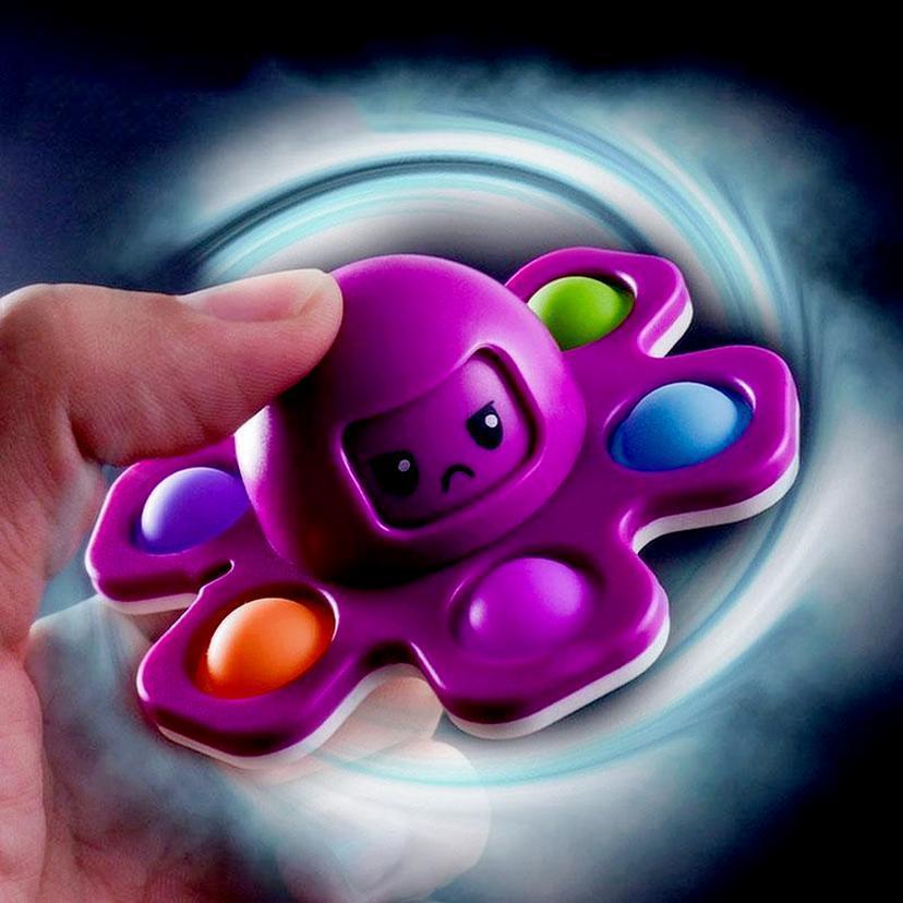 Fidget giocattoli Polopus Dripts Spinner Peluche Push Bubble Dice Anti-Irritabilità Ventitura Antifilty Artifatto Fingertip Novità Autismo sensoriale Ha bisogno di ansia relivy giocattolo