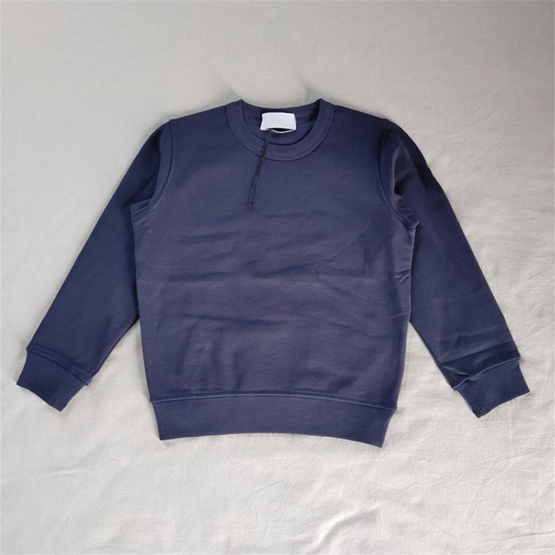 9 Renkler Çocuk Tasarımcı Tişörtü T-Shirt Çift Sonbahar Kış Kazak Uzun Kollu Hoodies Boy Ceket 6 Boyutu # 61340