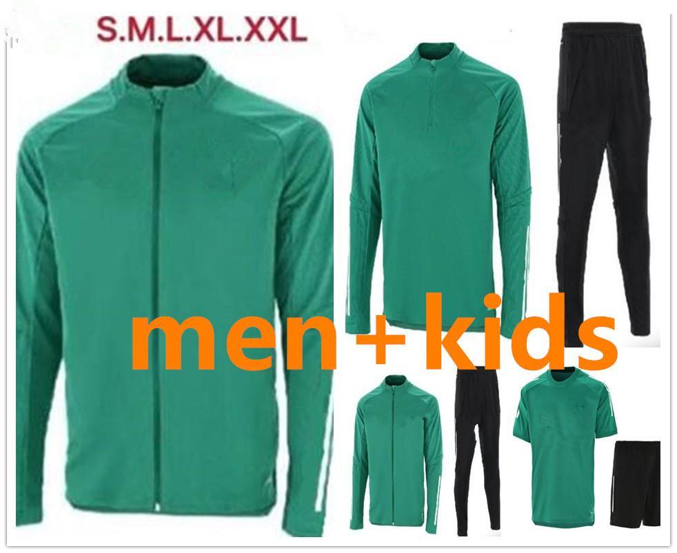 Футбол Tracksuitr Мужчины + детские футбольные куртки тренировочный костюм 2021 полный Zippe с длинным рукавом Troughtsuit Jogging