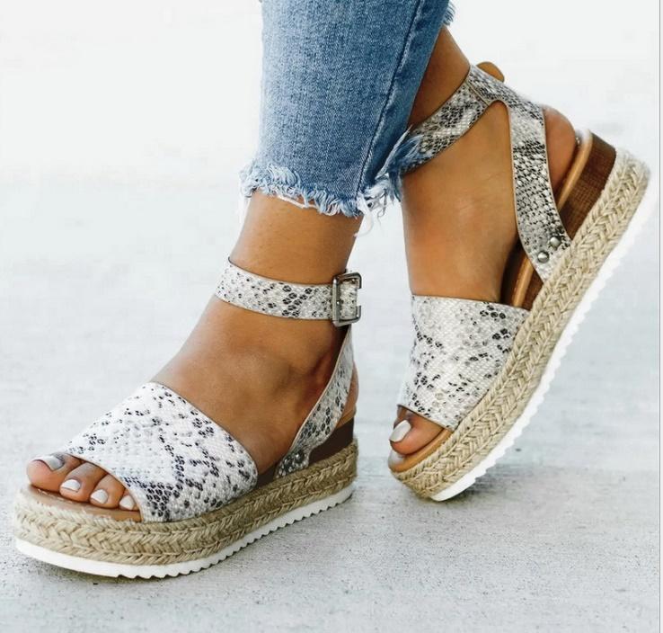 Dress Shoes Wedges Women Pumps High Heels Sandals Summer 2021 Flop Chaussures Femme Platform Sandalia Feminina