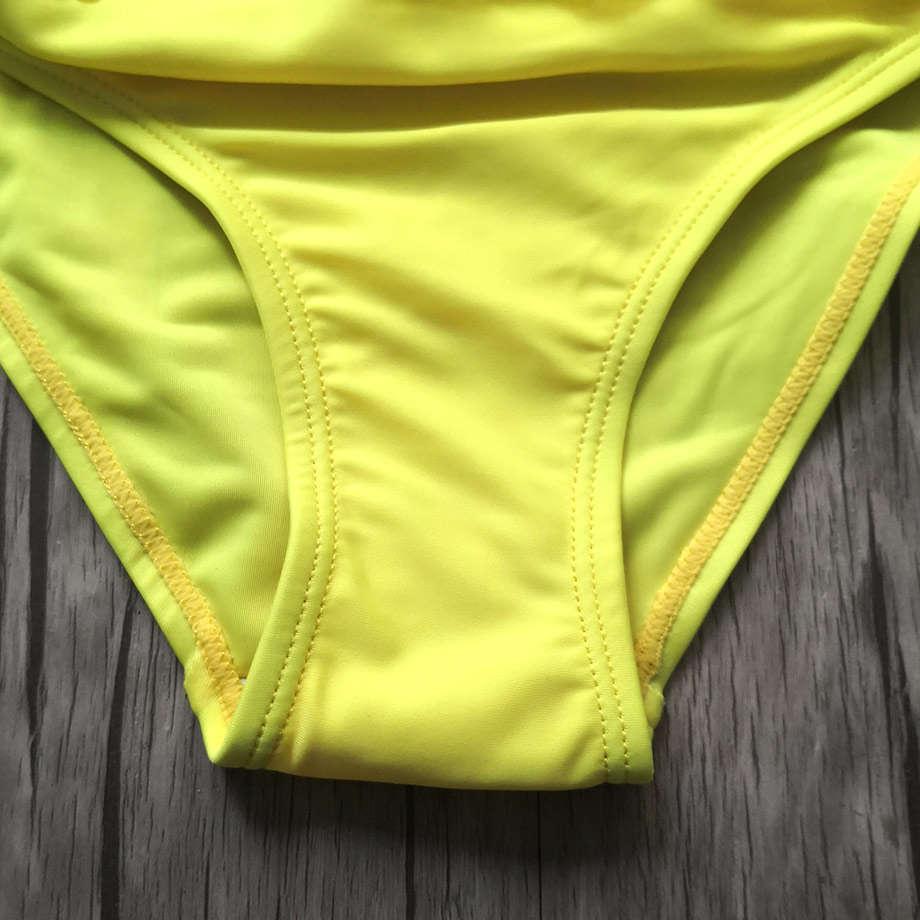 Creux de maillot de bain deux pièces Maillots de bain pour enfants 5-14 ans Teenage Bikini Bikini Falbala Wein Wein Fille Enfant Fille Maillot de bain