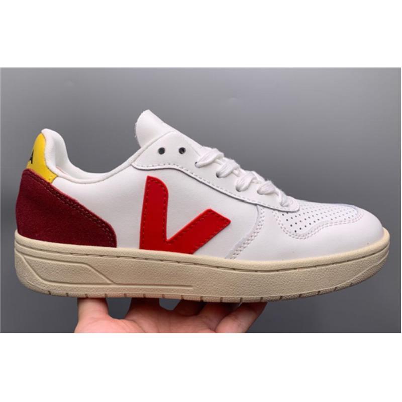 Chinelos de moda original veja mulheres top sneaker v10 respirável senhoras casuais homens tênis sapatos vulcanizados tamanho: noxi