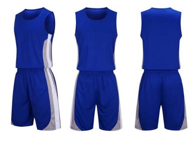 كرة السلة الفانيلة الرجال الأزرق الأبيض الأخضر جيرسي قميص الرجعية