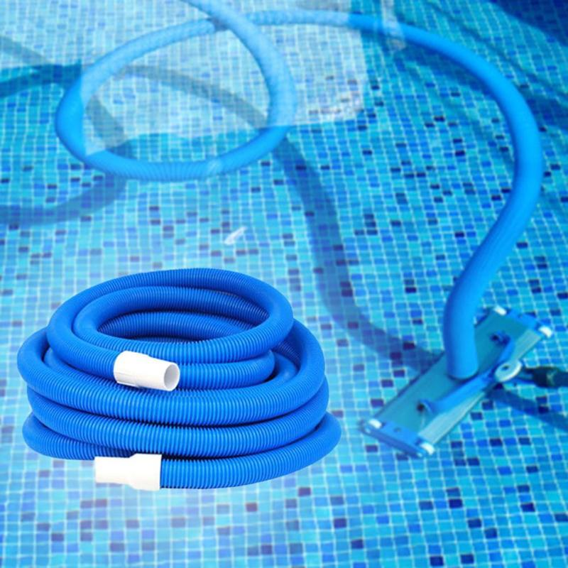Pool & Accessories Swimming Vacuum Hose Cleaning Swivel Cuff 1.5 Inch 5m/10m Optional Double Layer Suction Pipe
